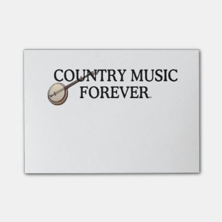 TEE Country Music Forever Post-it Notes