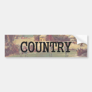 TEE Country Skate Bumper Sticker