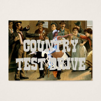TEE Country Test Drive Business Card