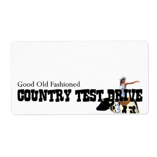 TEE Country Test Drive Label