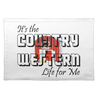 TEE Country Western Life Placemat