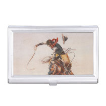 TEE Cowboy Life Case For Business Cards