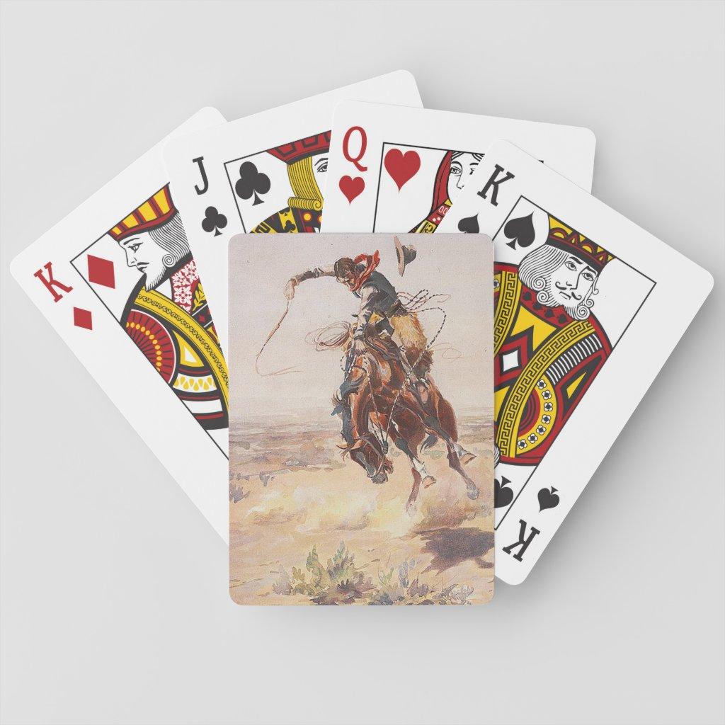 TEE Cowboy Life Playing Cards