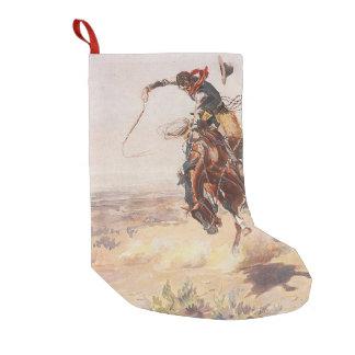 TEE Cowboy Life Small Christmas Stocking