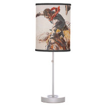 TEE Cowboy Life Table Lamp