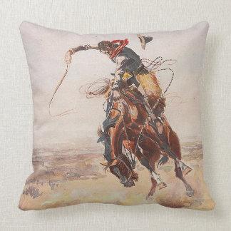 TEE Cowboy Life Throw Pillow