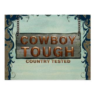TEE Cowboy Tough Postcard