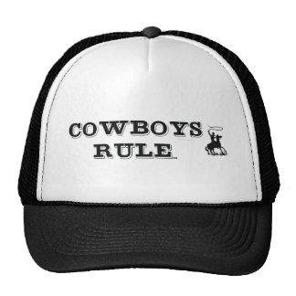 TEE Cowboys Rule Mesh Hats