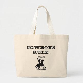 TEE Cowboys Rule Large Tote Bag