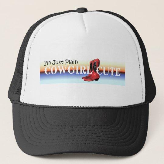 TEE Cowgirl Cute Trucker Hat