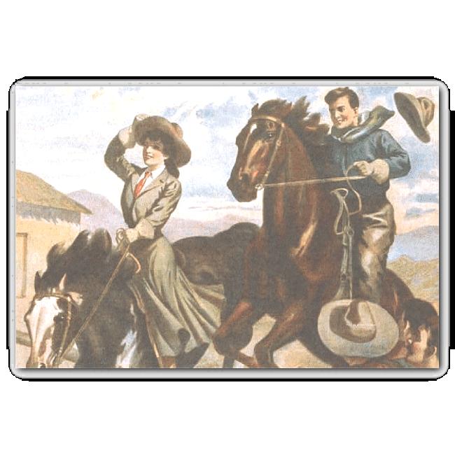 TEE Cowgirl Old School 10