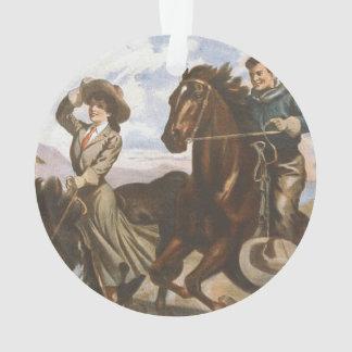 TEE Cowgirl Old School