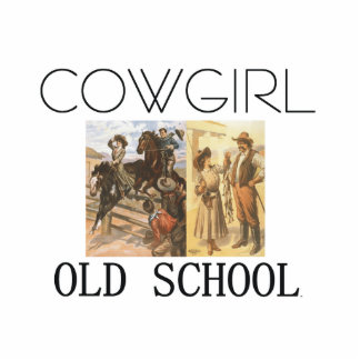 TEE Cowgirl Old School Statuette