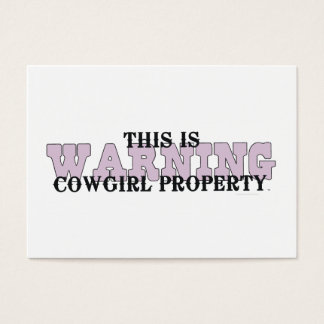 TEE Cowgirl Property Business Card