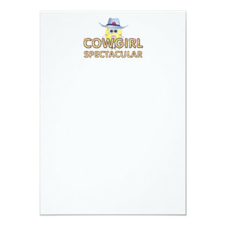 TEE Cowgirl Spectacular Card