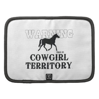 TEE Cowgirl Territory Folio Planner
