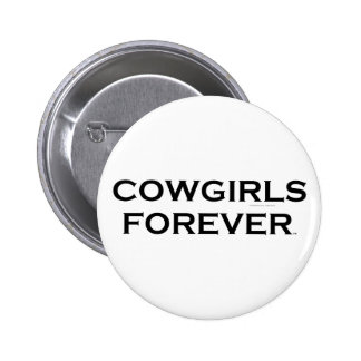 TEE Cowgirls Forever Pinback Button