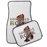 TEE Cowgirls Rock Car Mat