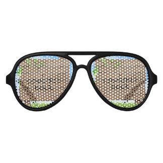 TEE Cowgirls Rock Aviator Sunglasses
