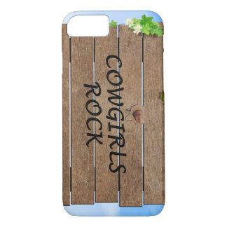 TEE Cowgirls Rock iPhone 7 Case