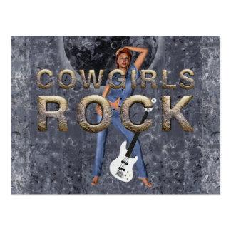 TEE Cowgirls Rock Postcard