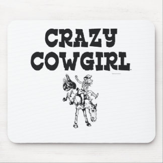 TEE Crazy Cowgirl Mouse Pad