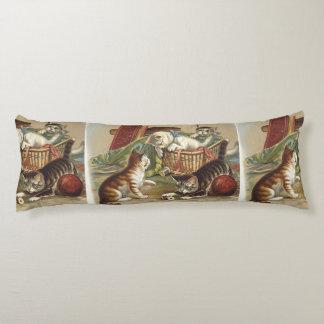 TEE Curious Cat Body Pillow