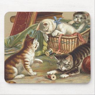 TEE Curious Cat Mouse Pad