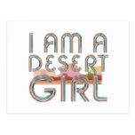 TEE Desert Woman Postcard