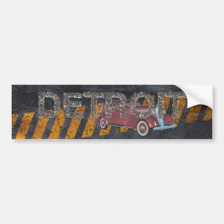 TEE Detroit Bumper Sticker
