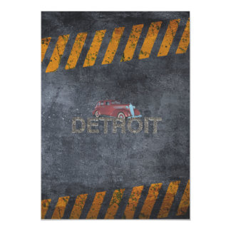 TEE Detroit Magnetic Card