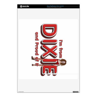 TEE Dixie Girl Skin For The PS3 Slim