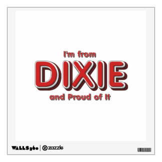 TEE Dixie Pride Wall Stickers