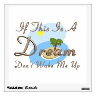 TEE Dream Island Wall Decal