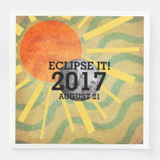 TEE Eclipse It 2017 Paper Dinner Napkin