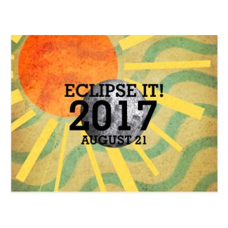 TEE Eclipse It 2017 Postcard