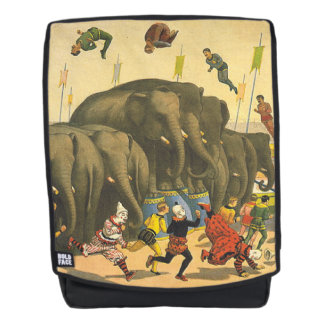 TEE Elephant Acrobats Backpack