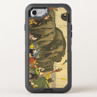 TEE Elephant Acrobats OtterBox Defender iPhone 7 Case