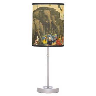 TEE Elephant Acrobats Table Lamp