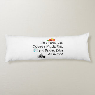 TEE Farm Diva Body Pillow