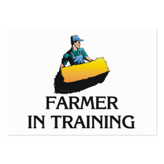TEE Farmer In Training Large Business Card