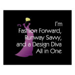TEE Fashion Diva Print