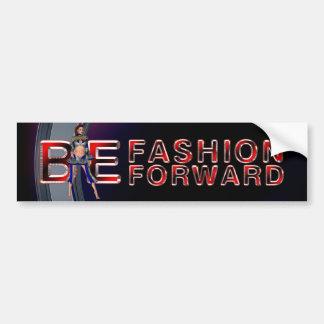 TEE Fashion Forward Car Bumper Sticker