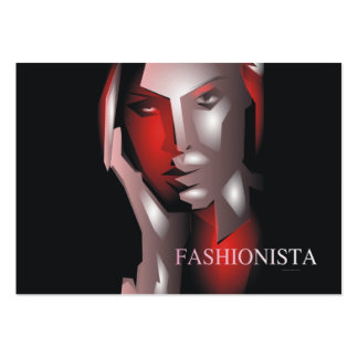 TEE Fashionista Large Business Cards (Pack Of 100)