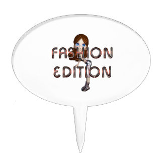 TEE Fasihon Edition Cake Topper