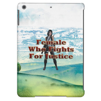 TEE Female Justice Cover For iPad Air