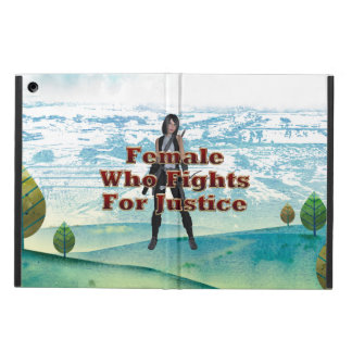 TEE Female Justice iPad Air Covers