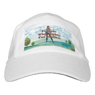 TEE Female Who Fights for Justice Headsweats Hat
