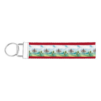 TEE Female Who Fights for Justice Wrist Keychain