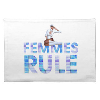 TEE Femmes Rule Cloth Placemat